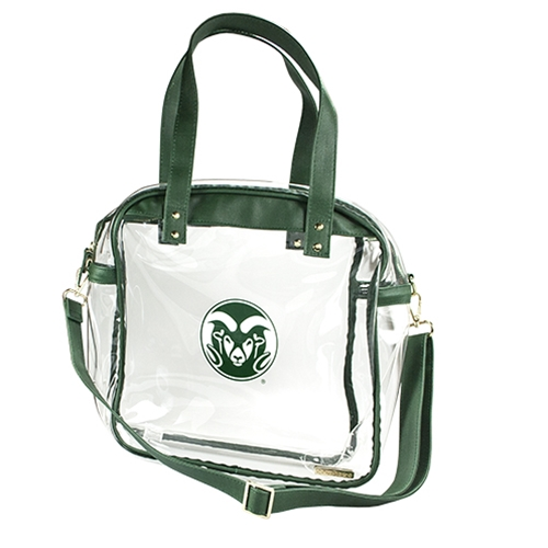 Image For Carryall CSU Clear Tote Bag