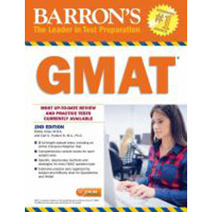 Cover Image For Barron's GMAT 2/e
