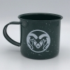 Image for Forest Green 16OZ Metal Camping Mug