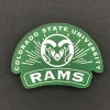 "Image for 2""X2"" CSU Rams Laser Cut Magnet"