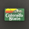 Image for 2X2 Acrylic Colorado State Magnet