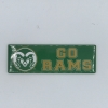 Image for GO RAMS Green/Gold Magnet