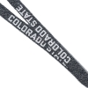 "Cover Image for DISCONTINUED - 1/2"" Grey Knit Colorado State Lanyard"
