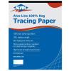 Image for Alvin Alva-Line 100% Rag Vellum Tracing Paper 11x17