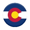 Image for Colorado Flag State Pride PopSocket