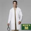 WonderLab Men's Long Lab Coat - Size Medium Image
