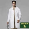 Cover Image for WonderLab Men's Long Lab Coat - Size Medium