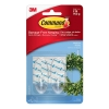 Image for Command Strip 2 Piece Clear Medium Hooks