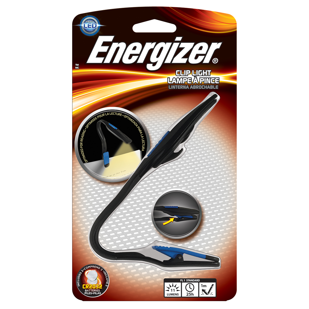 Image For Energizer LED Book Light