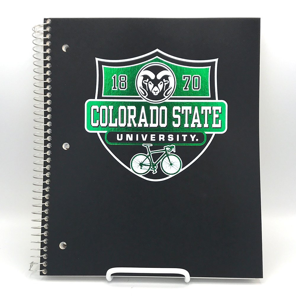 "Image For CSU 3 Subject Spiral Bound Notebook - 120 ct - 11"" X 9"""