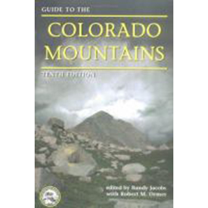Image For Guide to Colorado Mountains by Randy Jacobs