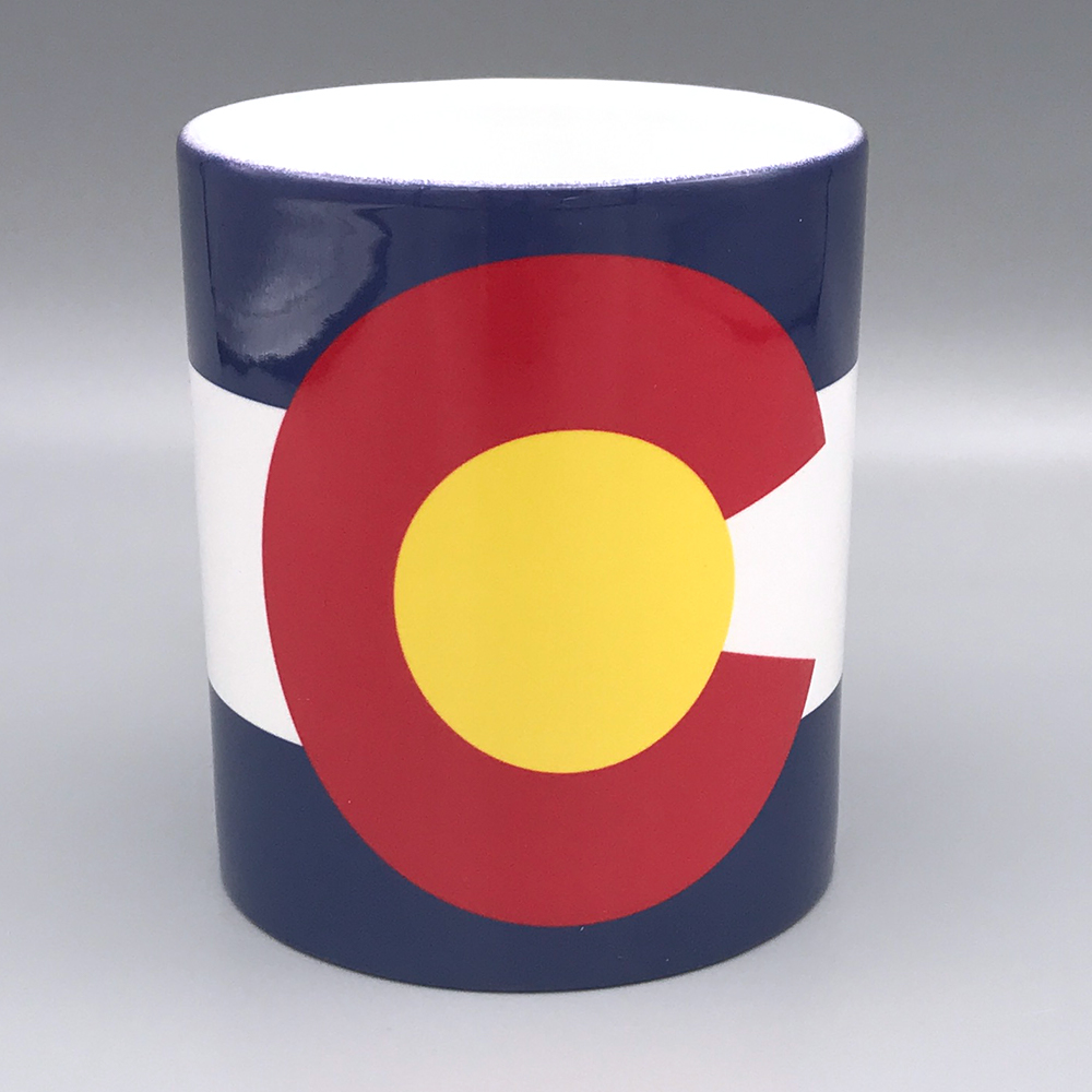 Image For 11 Oz. Colorado State Flag Mug