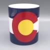 Image for 11 Oz. Colorado State Flag Mug