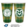 Image for CSU Block Island Tartan Pint Glass