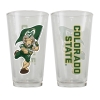 Cover Image for CSU Rams Iridescent Green Pint Glass by Spirit