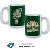 Image for Green/White Cam The Ram Power Bistro Mug