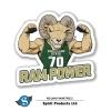 Cover Image for Green/White Cam The Ram Power Bistro Mug