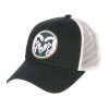 Image for Forest Green/White Big Mesh CSU Ramhead Hat
