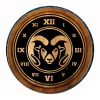 Cover Image for Wooden Colorado State University Bottle Opener