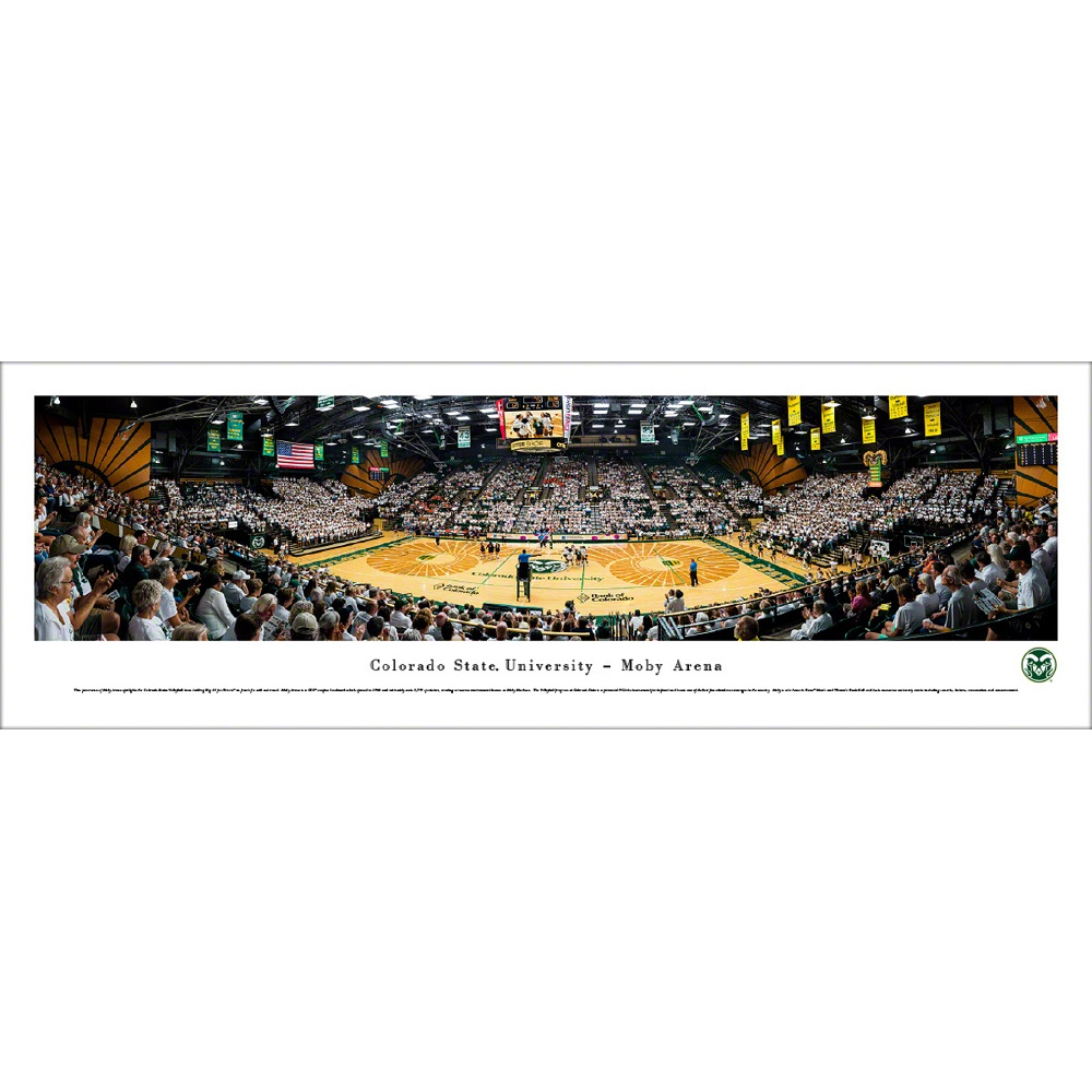 Image For Colorado State University Volleyball Panoramic Photo - Tubed