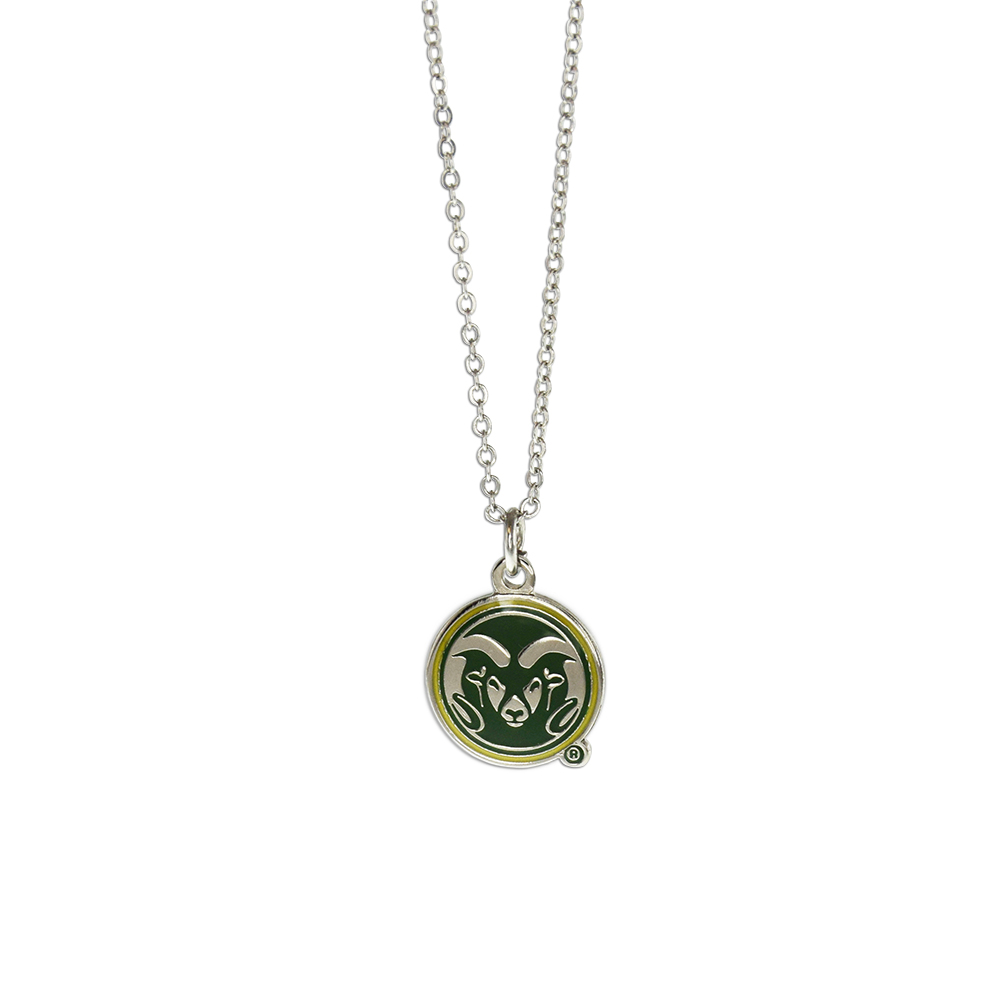 Image For Colorado State Rams Fan Necklace