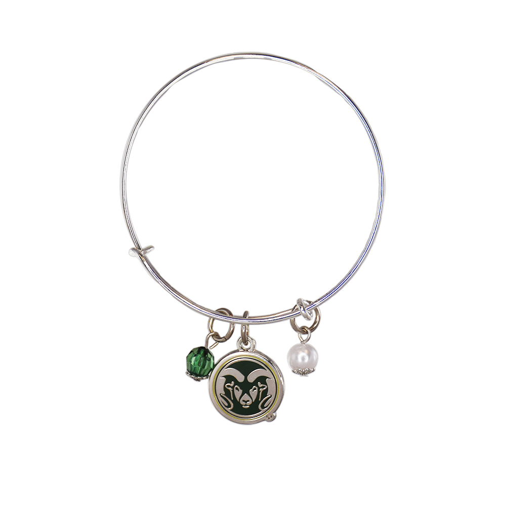Cover Image For Colorado State Rams Bangle Bracelet