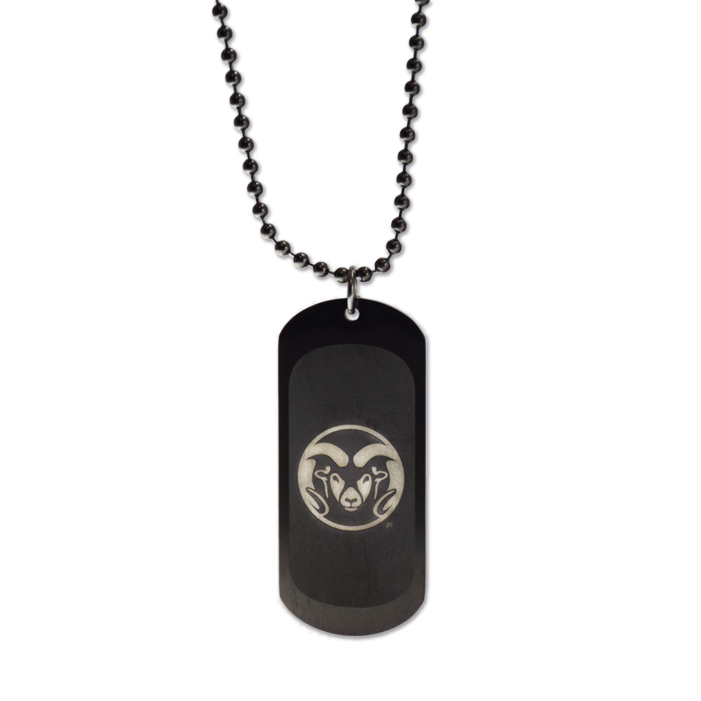 Cover Image For Colorado State Rams Dog Tag