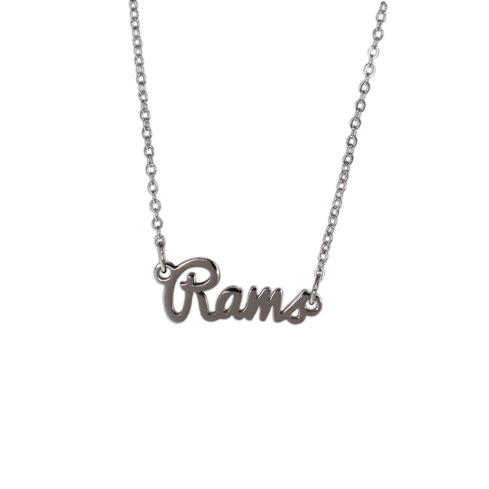 Image For Colorado State Rams Script Necklace