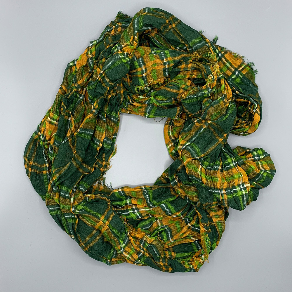 Cover Image For CSU Tartan Infinity Scarf