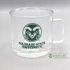 Image for 12Oz., CSU Clear Glass Mug