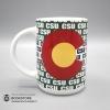 Image for White 15Oz Grande CSU Mug