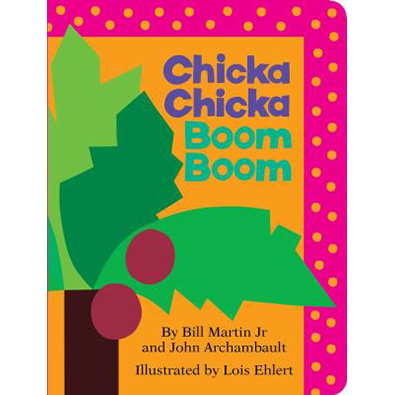 Image For Chicka Chicka Boom by Bill Martin