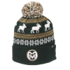 Image for Green CSU Ram Carousel Knit Hat
