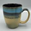 Image for Blue/Tan Sioux Falls Colorado State Mug