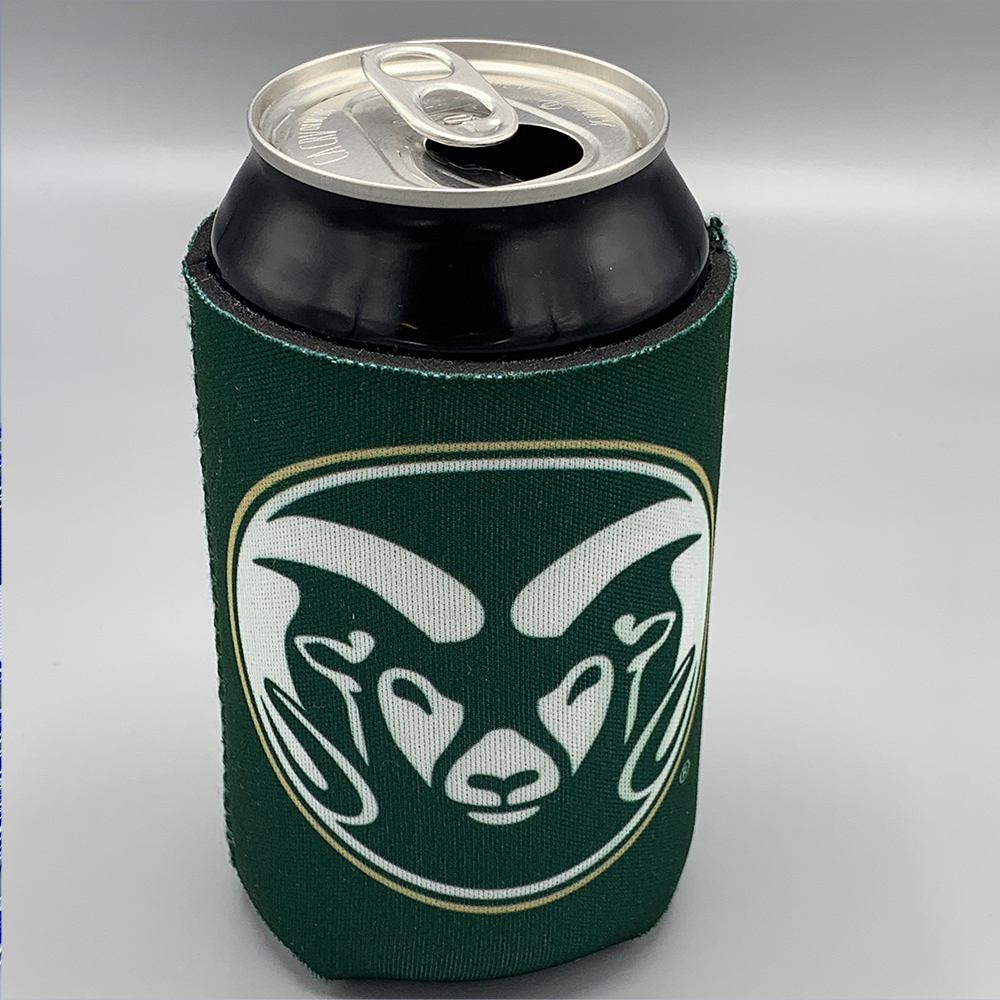 Image For Colorado State Ram Head Koozie