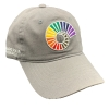 Image for Grey CSU Ram Horn PRIDE Hat by Zephyr