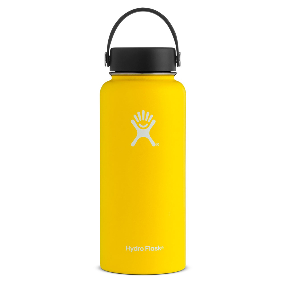 Cover Image For Hydro Flask 32Oz. Wide Mouth - Lemon