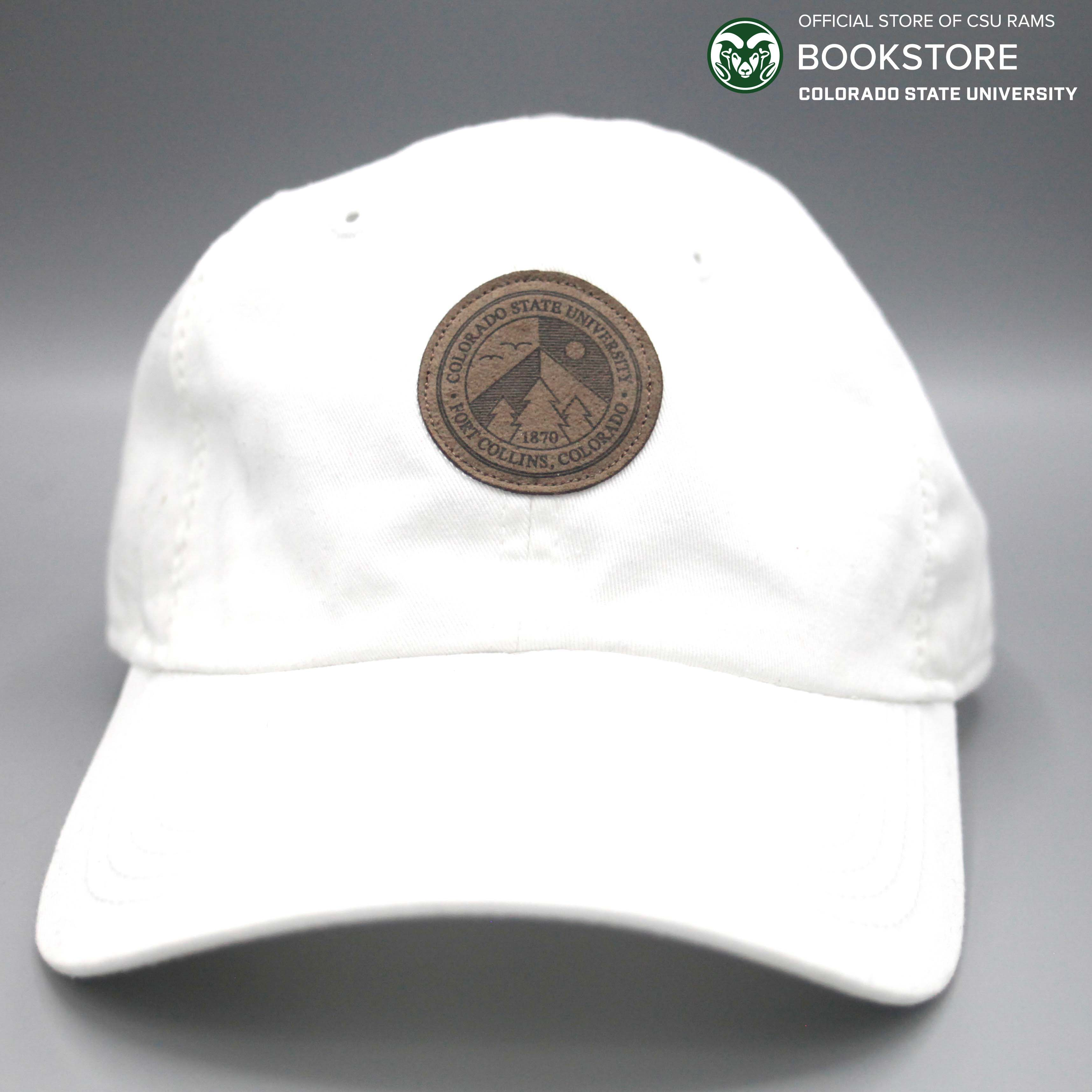 AHEAD White Colorado State Unstructured Hat d16b2cdb7