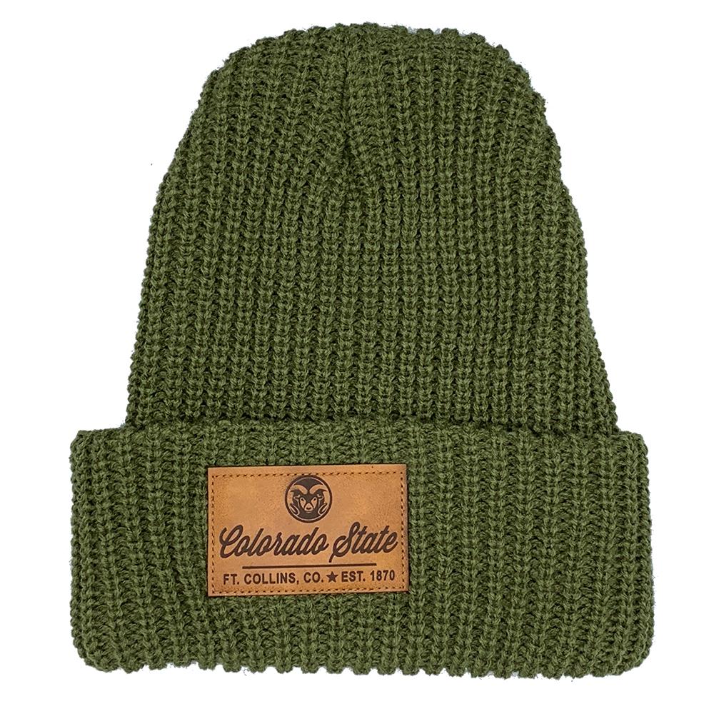 Army Green Lumberjack Beanie f3483b46ad