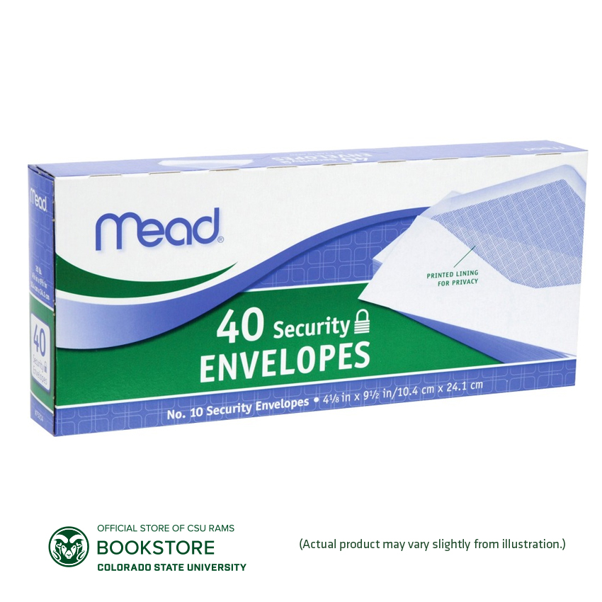 Image For Mead No. 10 Security Envelopes