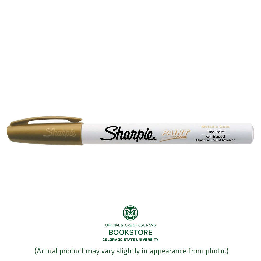 Image For Gold Fine Point Sharpie