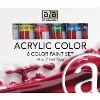 Image for Acrylic Color 6-pack