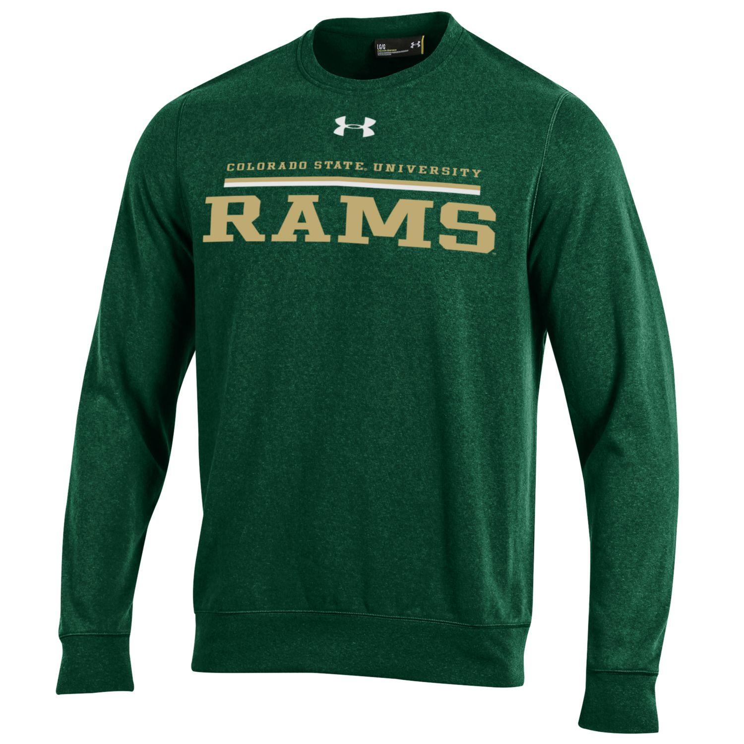 Image For Green Colorado State University Under Armour Sweater