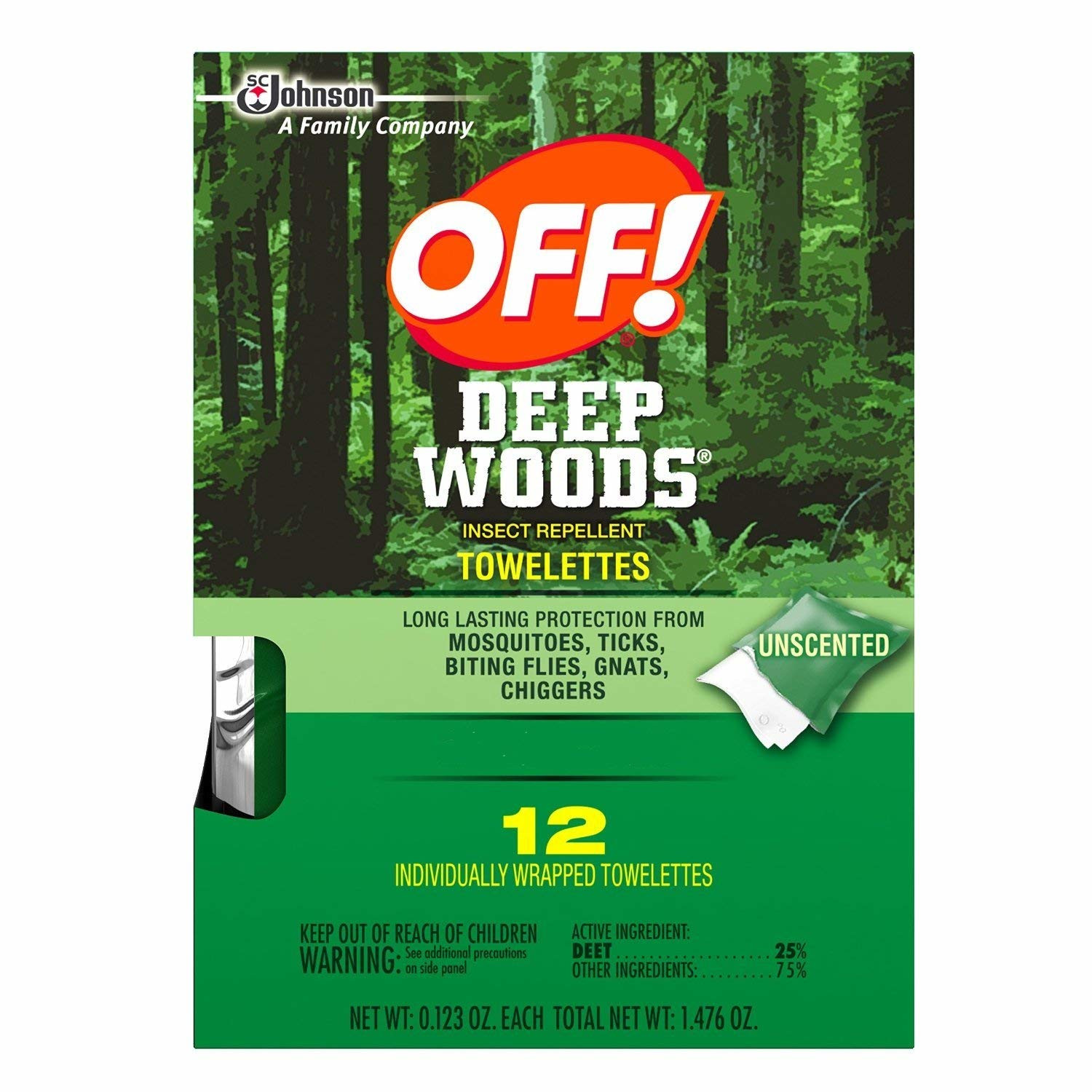 Cover Image For OFF! Deep Woods Towelettes