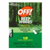 Image for OFF! Deep Woods Towelettes