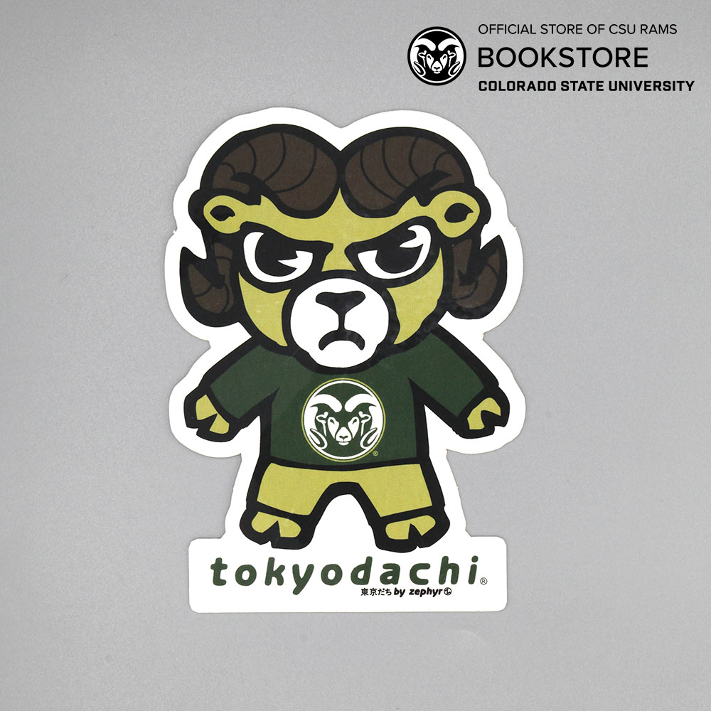 Image For Tokyodachi Cam the Ram Sticker