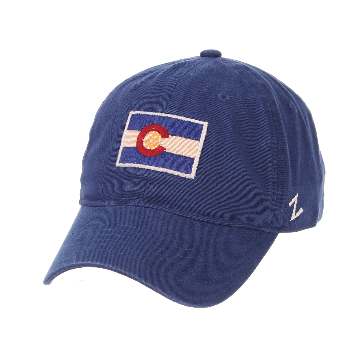 facb70985db5e Blue Colorado State University Flag Hat by Zephyr