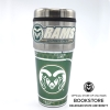 Image for Green and Silver Colorado State Rams Travel Tumbler