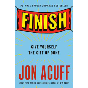 Cover Image For Finish by Jon Acuff