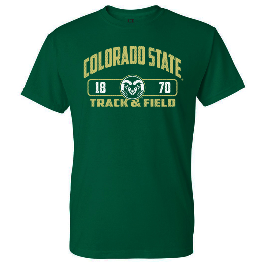 Image For CSU Rams Unisex Track & Field T-shirt